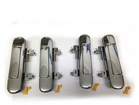 Chrome Door Handle Set